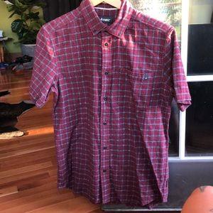 Skate brand flannel shirt